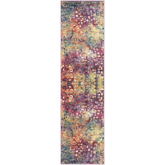 Safavieh Monaco Collection Doreen Abstract Runnerrug