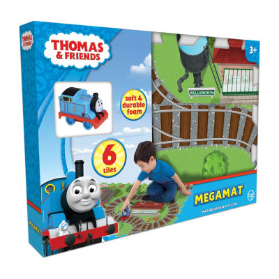 Thomas & Friends 6 Pc Mega Floor Mat With Vehicle