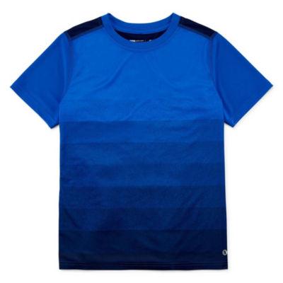 Xersion Short Sleeve Crew Neck T-Shirt Boys
