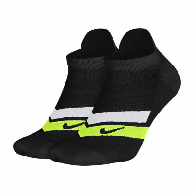 Nike® Running 2-pack. No Show Socks