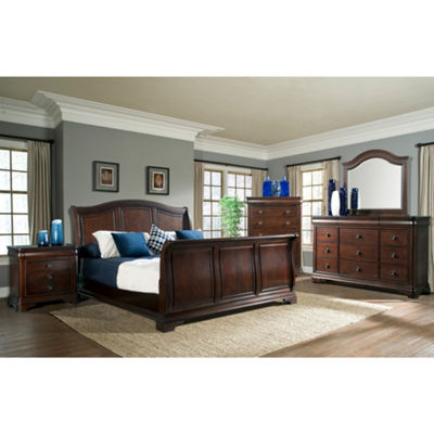 Picket House Furnishings Conley Sleigh 3-pc. Bedroom Set