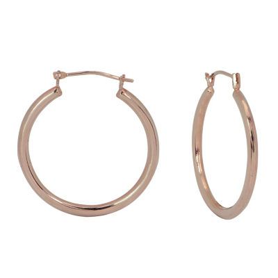 10K Gold Hoop Earrings