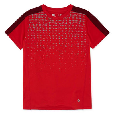 Xersion Short Sleeve Crew Neck T-Shirt Boys