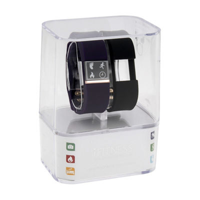 Ifitness Unisex Purple Smart Watch-Ift2844bk668-Blp