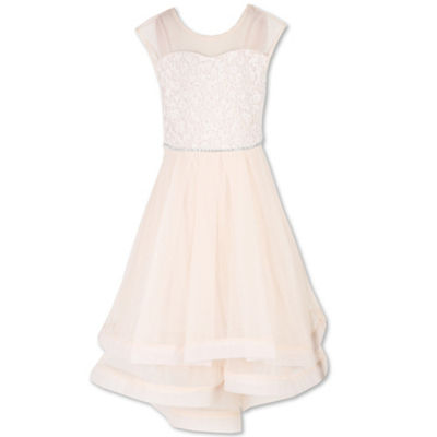 Speechless Embellished Sleeveless Party Dress - Big Kid Girls Plus