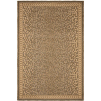 Safavieh Courtyard Collection Daithi Animal Indoor/Outdoor Area Rug