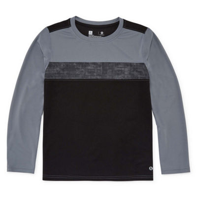 Xersion Long Sleeve Crew Neck T-Shirt Boys