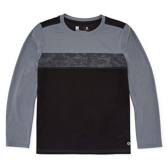 2c989d9b Xersion Boys Crew Neck Long Sleeve Dri-Fit T-Shirt Preschool / Big Kid -  JCPenney