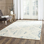 Safavieh Dip Dye Collection Durward Floral Area Rug