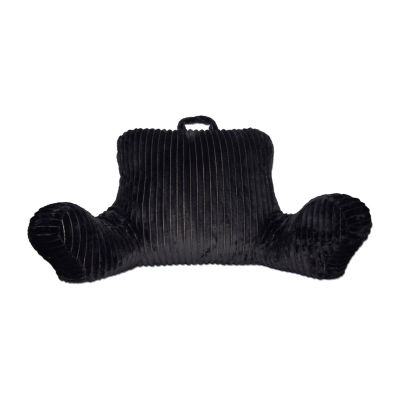 Corduroy Backrest Pillow w/ Pocket