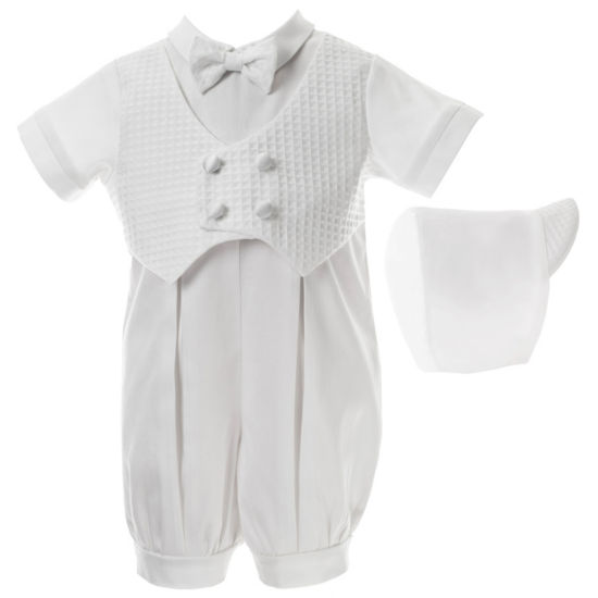 Keepsake 2-pc. Overall Set-Baby Boys
