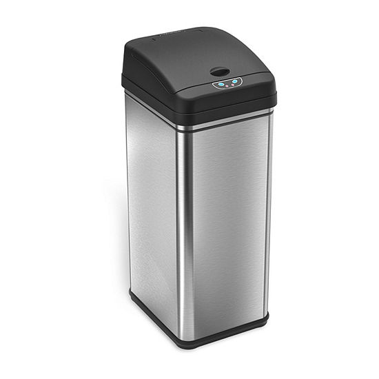 Itouchless 13 Gal Deodorizing Touchless Trash Can