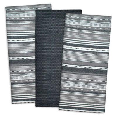 Urban Stripe Dishtowel Set - Set of 3