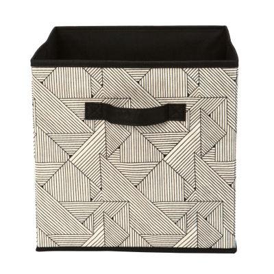 Non-Woven Storage Box Cube 12X12 - Geo Natural