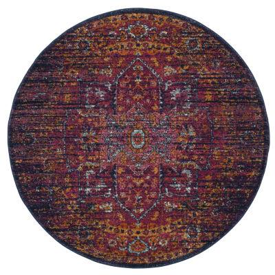 Safavieh Damjan Oriental Round Rugs