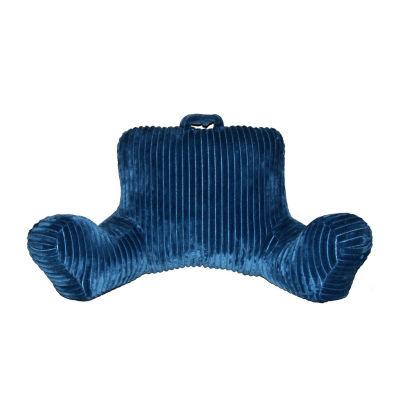 Corduroy Backrest Pillow w/ Pocket