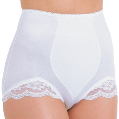 Rago Plus Tear Drop Panel Stretch-Lace Light Control Control Briefs 919p
