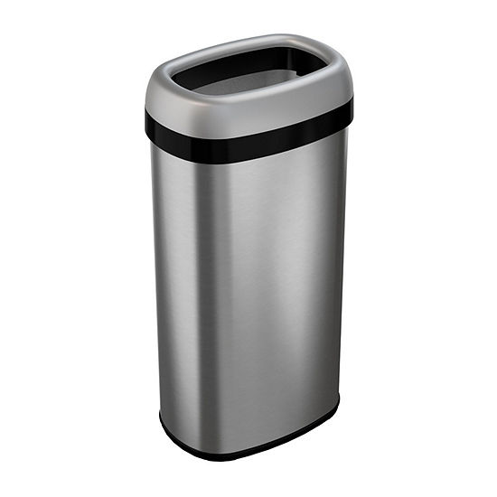 iTouchless® 16-Gal. Commercial-Grade Dual-Deodorizer Stainless Steel Trash  Can