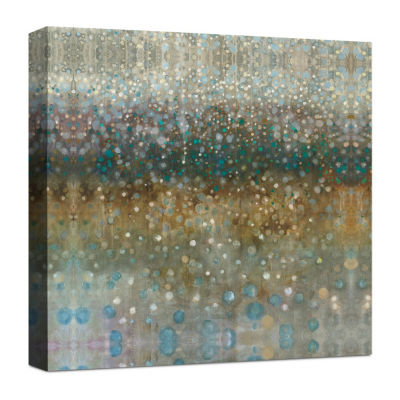 Abstract Rain Canvas Art