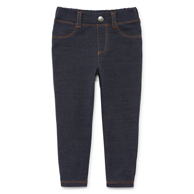 Okie Dokie Pull-On Pants Girls, Denim, Size 6 Months