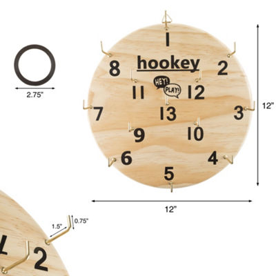 Hey! Play! Hookey Ring Toss Game Set