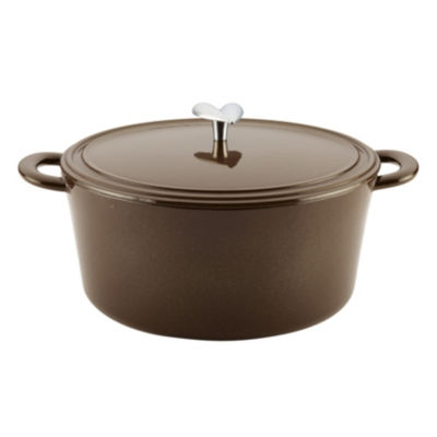 Ayesha Curry Home Collection 6-Qt. Dutch Oven Cast Iron Dutch Oven