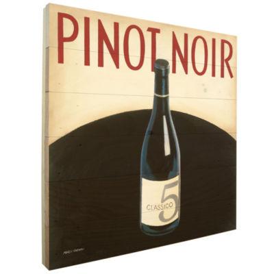 Vin Moderne 1 Rustic Pallet Wall Art