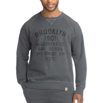 Hanes Mens 1901 Heritage Graphic V-notch Raglan Sweatshirt