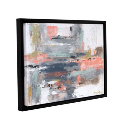 Snow Drift Floater-Framed Gallery Wrapped Canvas