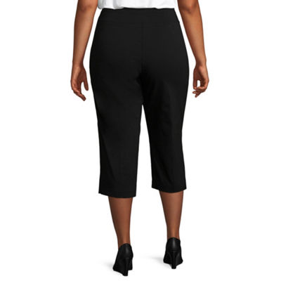 Lark Lane Must Haves Pull On Tech Capri- Plus