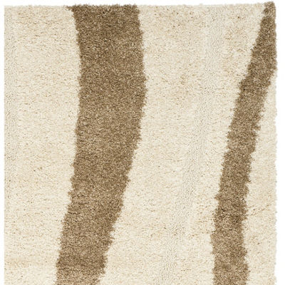 Safavieh Shag Collection Kimmee Abstract Runner Rug