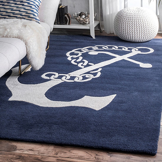 Nuloom Hand Tufted Set Sail Rug