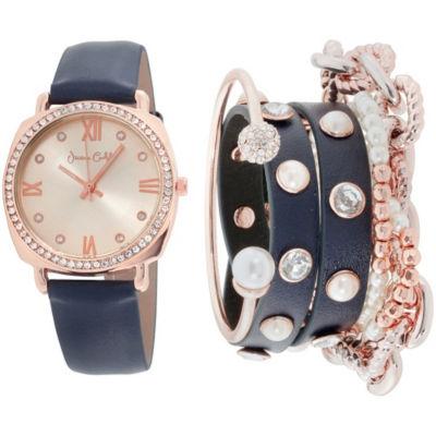 Womens Rose Goldtone Bracelet Watch-St2817rg735-524