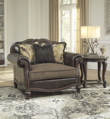 Signature Design By Ashley® Winnsboro Durablend Oversized Chair