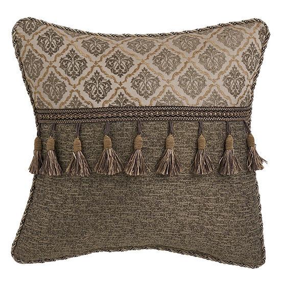 Croscill Classics Nerissa Fashion Square Throw Pillow