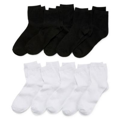 Arizona 10-pc. Low Cut Socks