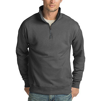 Hanes Nano Mens Premium Lightweight Quarter-Zip Jacket