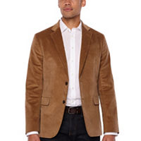 JCPenney deals on Stafford Corduroy Stretch Classic Fit Full Lined Sport Coat