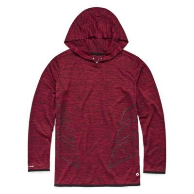 Xersion Long Sleeve Hooded Neck T-Shirt Boys