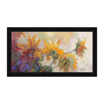Three Long Blossoms Framed Print