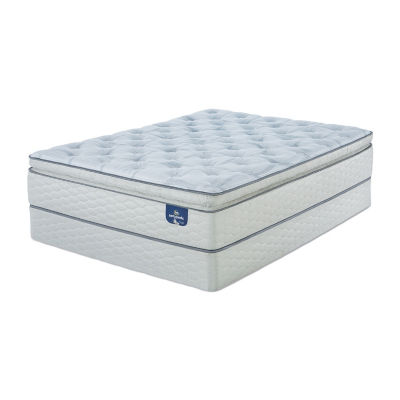 Serta® Sertapedic® Lawrenceville Super Pillowtop Firm - Mattress + Box Spring