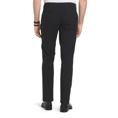 Van Heusen Flex Oxford Chino Mens Straight Fit Flat Front Pant
