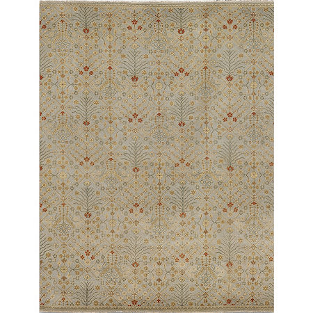 Amer Rugs Anatolia AH Hand-Knotted Wool Rug, One Size , Blue