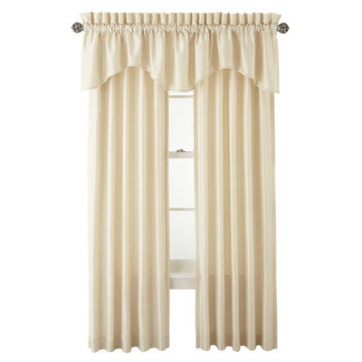 Supreme Pinch-Pleat/Back-Tab Lined Curtain Panel