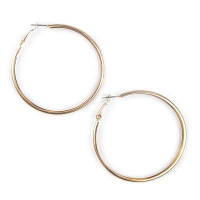 Bold Elements 56mm Hoop Earrings