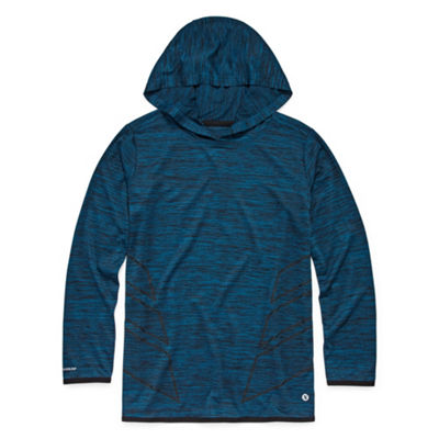 Xersion Long Sleeve Hooded Neck T-Shirt Boys