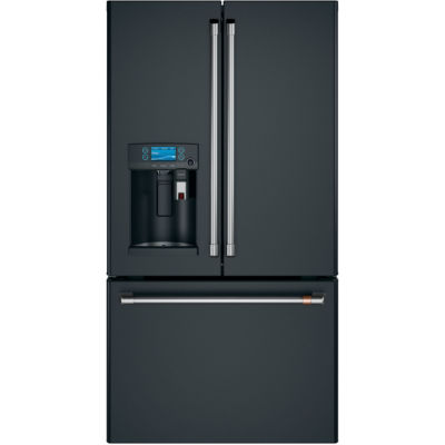 GE Café ENERGY STAR® 27.8 cu. ft. French-Door Refrigerator with Keurig K-Cup Brewing System