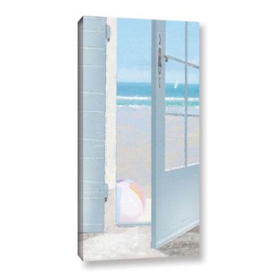 Brushstone Beach Ball Gallery Wrapped Canvas