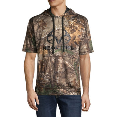 Realtree Short Sleeve Knit Camouflage Hoodie