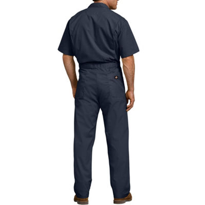 Dickies Short Sleeve Workwear Coveralls-Big and Tall